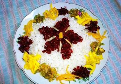 برنج پخته و نگهداري آن