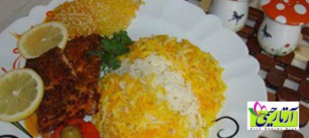 روش پخت برنج