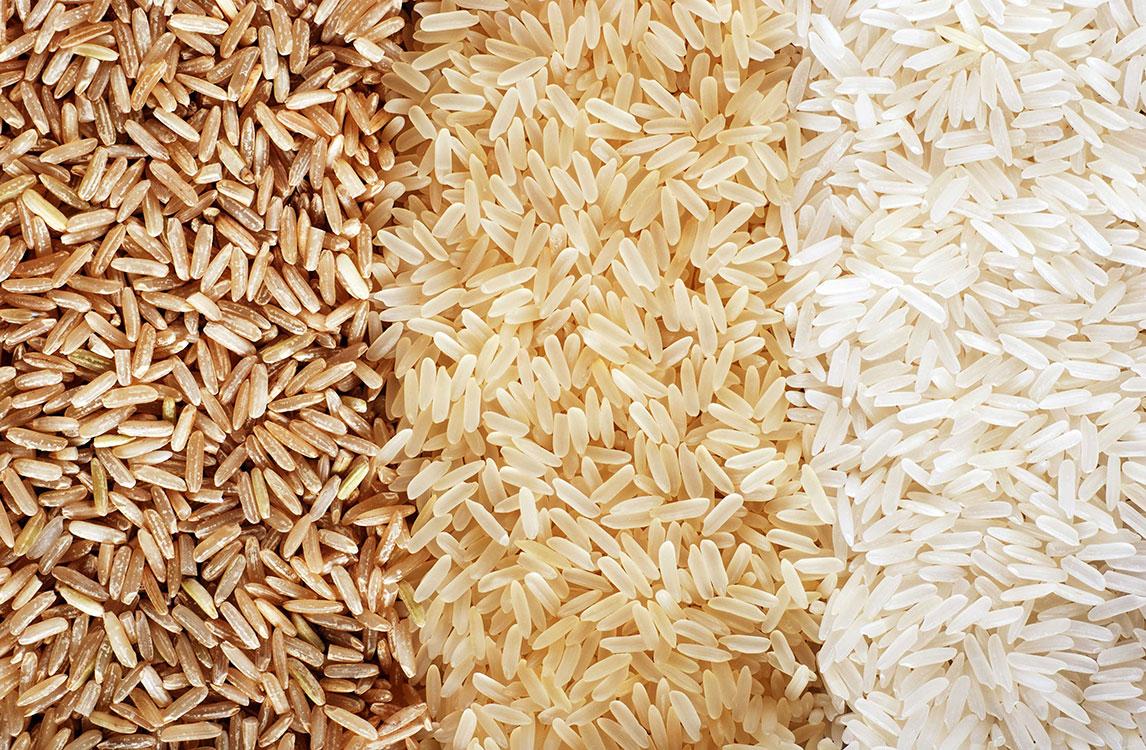 تفاوت برنج سفید با برنج قهوه ای
