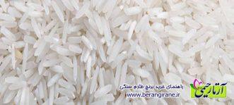 راهنمای خرید برنج طارم سنگی