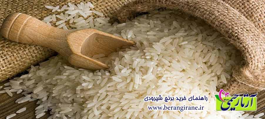 راهنمای خرید برنج شیرودی
