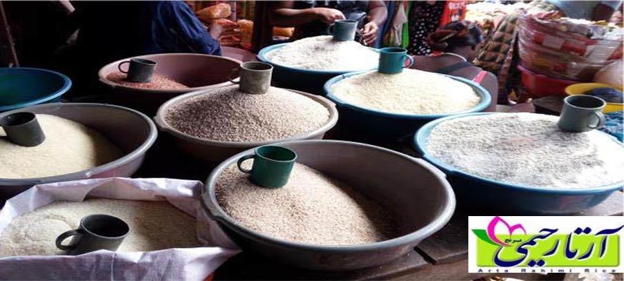 خرید برنج شمال . بررسی وضعیت بازار برنج شمال