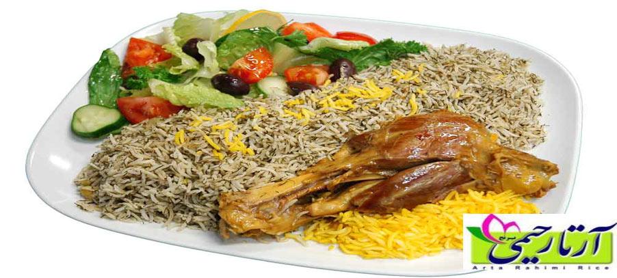 آموزش پخت برنج رستورانی